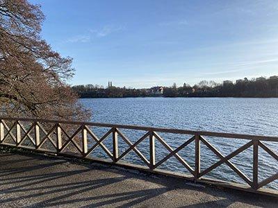 Efter Kungsholms strand kommer man till Kristineberg.