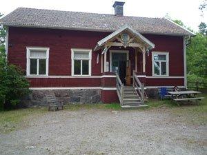 Gällnös vandrarhem från 1902.