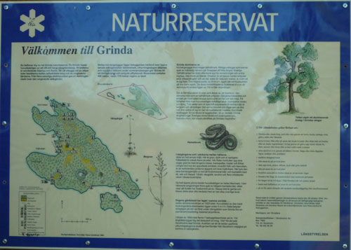 Karta över Grinda.