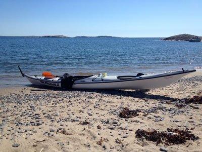 Kajak paddling Nynäshamn