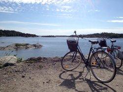 cykla på utö
